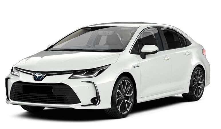 Toyota Corolla Rent in Vilnius