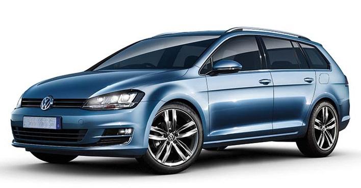 Volkswagen Golf VII Variant Nuoma Kaune